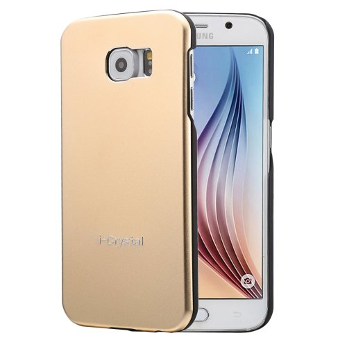 For Galaxy S6 Gold Heat Radiation Design Armor Metal + PC Protective Case