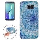 For Galaxy S6 Edge+ Ultrathin Flower Bud Pattern TPU Protective Case