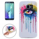 For Galaxy S6 Edge+ Ultrathin Eye Pattern TPU Protective Case
