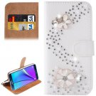 For Galaxy Note 5 S Line Diamond Leather Case with Holder & Card Slots