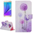 For Galaxy Note 5 Dandelion Diamond Leather Case with Holder, Wallet & Card Slots