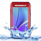 For Galaxy Note 5 Red Riyo IP68 Waterproof Shockproof Dustproof Case..