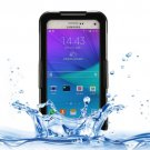 For Galaxy Note 5 Black IPX8 TPU + PC Waterproof Case with Lanyard