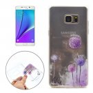 For Galaxy Note 5 Dandelion Pattern Soft TPU Protective Back Cover Case