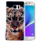For Galaxy Note 5 IMD Tiger Pattern Blu-ray Soft TPU Protective Case