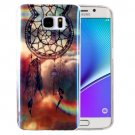 For Galaxy Note 5 IMD Dreamcatcher Pattern Blu-ray Soft TPU Protective Case
