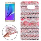 For Galaxy Note 5 Ultrathin National Style Stripes Pattern TPU Protective Case