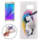 For Galaxy Note 5 Ultrathin Fashion Pattern TPU Protective Case
