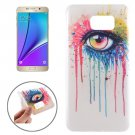 For Galaxy Note 5 Ultrathin Eye Pattern TPU Protective Case