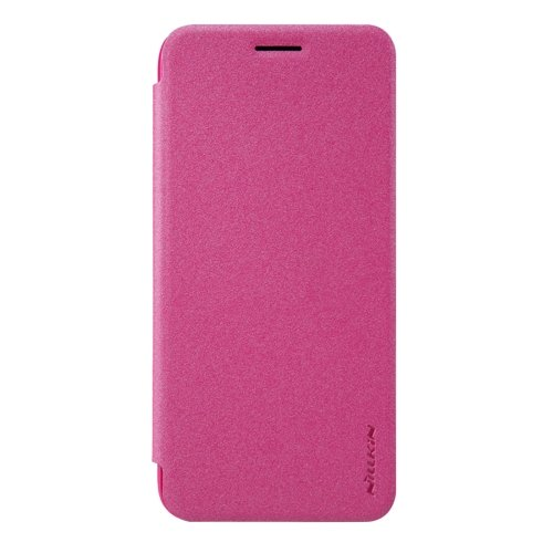 For Google Pixel XL Magenta NILLKIN SPARKLE Frosted Smartcover Leather Case