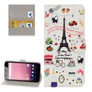 For Google Pixel XL Cartoon Pattern Leather Case with Holder, Card Slots & Wallet