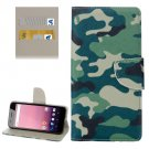 For Google Pixel XL Camouflage Pattern Leather Case with Holder, Card Slots & Wallet