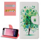 For Google Pixel XL Tree Pattern Leather Case with Holder, Card Slots & Wallet