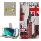 For Google Pixel Big Ben Pattern Leather Case with Holder, Card Slots & Wallet