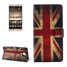 For Huawei Mate 9 UK Flag Leather Case with Holder, Card Slots & Wallet