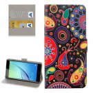For Huawei NovaI Acaleph Pattern Leather Case with Holder, Card Slots & Wallet