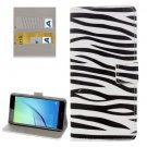 For Huawei NovaI Zebra Pattern Leather Case with Holder, Card Slots & Wallet