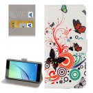 For Huawei NovaI Butterfly Pattern Leather Case with Holder, Card Slots & Wallet