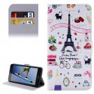 For Honor 5A Symbols Pattern Leather Case with Holder, Card Slots & Wallet