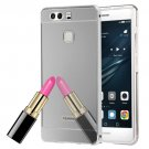 For Huawei P9 Electroplating Mirror Silver PC Case Back Shell Cover
