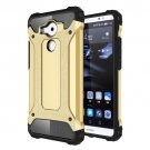 For Huawei Mate 8 Gold Tough Armor TPU + PC Combination Case