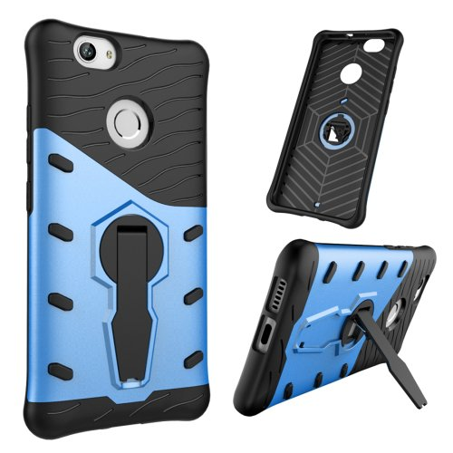 For Huawei nova Blue Rotating TPU + PC Combination Case with Holder