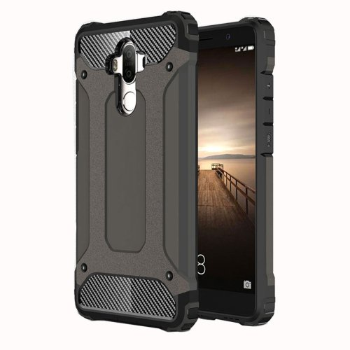 For Huawei Mate 9 Coffee Tough Armor TPU + PC Combination Case