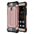 For Huawei P9 Plus Rose Gold Tough Armor TPU + PC Combination Case