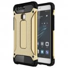 For Huawei P9 Gold Tough Armor TPU + PC Combination Case