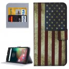 For Moto G 4 Gen US Flag Pattern Leather Case with Holder, Card Slots & Wallet