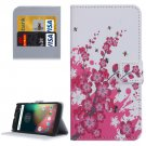 For Moto G 4 Gen Blossom Pattern Leather Case with Holder, Card Slots & Wallet