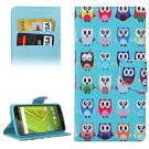 For Moto X Style Cartoon Pattern Leather Case with Holder, Card Slots & Wallet