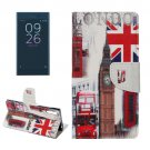 For Xperia XZ Big Ben Leather Case with Holder, Card Slots & Wallet