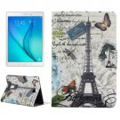 For Tab A 8.0 T350 Tower Pattern Horizontal Flip Leather Case with Holder