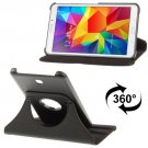 For Tab 4 7.0 Black Litchi Texture Leather Case with 2-angle Rotating Holder