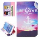 For Tab 4 7.0 Anchor Flip Leather Case with Holder, Wallet & Card Slots