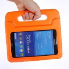 For Tab 4 7.0 Orange EVA Rugged Foam Case with Handle and Holder
