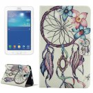 For Tab 3 Lite 7.0 Windbell Pattern Horizontal Flip Leather Case with Holder