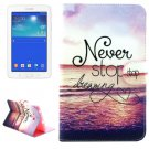 For Tab 3 Lite 7.0 Dreaming Pattern Leather Case with Holder, Card Slots & Wallet