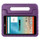 For LG G Pad F 8.0 V495 Purple EVA Bumper Case with Handle & Holder