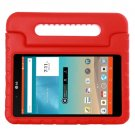 For LG G Pad F 8.0 V495 Red EVA Bumper Case with Handle & Holder