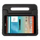 For LG G Pad F 8.0 V495 Black EVA Bumper Case with Handle & Holder