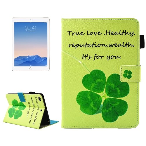 For iPad Air 2/iPad 6 Clove Smart Cover Case with Holder, Card/Pen Slots & WalletS