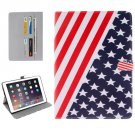 "For iPad Pro 9.7"" US Flag Pattern Flip Leather Case with Holder, Card Slots & Wallet"