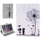"For iPad Pro 9.7"" Couple Pattern Flip Leather Case with Holder, Card Slots & Wallet"