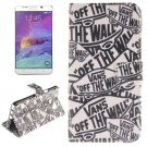 For Galaxy Note 5 Cartoon 2 side Leather Case with Card Slots, Holder & Wallet