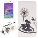 For Galaxy Note 5 Bicycle 2 side Leather Case with Card Slots, Holder & Wallet