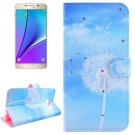 For Galaxy Note 5 Dandelions Diamond Leather Case with Holder, Wallet & Card Slots