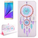 For Galaxy Note 5 Windbell Diamond Leather Case with Holder, Wallet & Card Slots