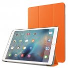 "For iPad Pro 9.7"" Orange Custer Flip Leather Smart Case with 3 Folding Holder"